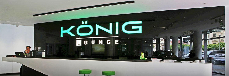 LYSO Leuchte Office König Lounge