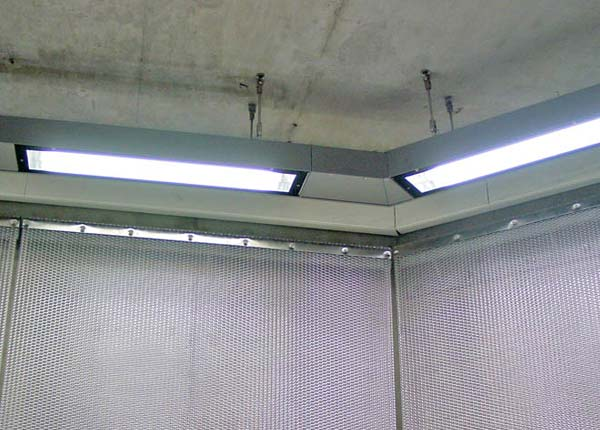 Beleuchtungsrohr Eckig 2119-5
