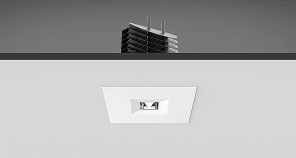 Moderne Lampen 9 : Scope box downlight leuchten metall technik gmbh